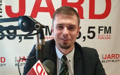 Adrian Łuckiewicz – burmistrz Wasilkowa