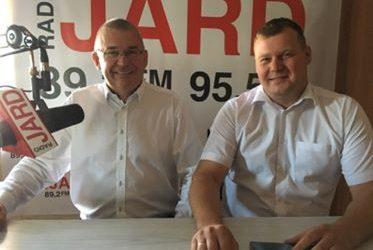 Andrzej Jankowski – wójt gminy Brańsk iMariusz Korzeniewski – wójt gminy Wyszki
