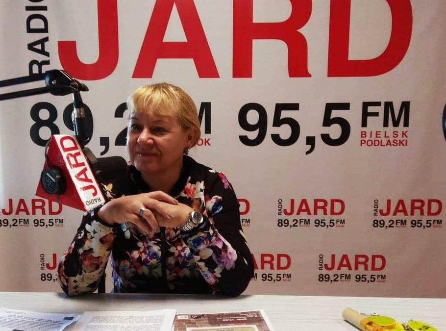 21.10.2019r.: Jolanta Gadek – dyrektor Książnicy Podlaskiej im.Łukasza Górnickiego wBiałymstoku