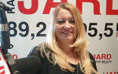 16.10.2019r.: Ewa Joanna Szymańska – dyrektor marketingu firmy JARD – organizatora imprez sylwestrowych wregionalnym stylu