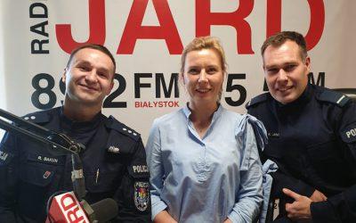 16.10.2019r.: kom. Radosław Bakun orazpolicyjne małżeństwo: Justyna Janda ist. post. Krzysztof Janda