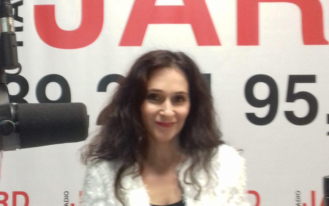 08.11.2019r.: Elena Kwiatkowska – liderka i wokalistka popularnego zespołu disco i dance Zanoza z Inowrocławia